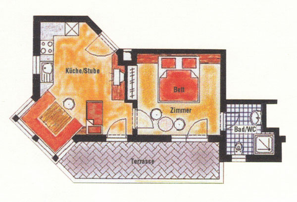 Layout Apartment Brennerspitz